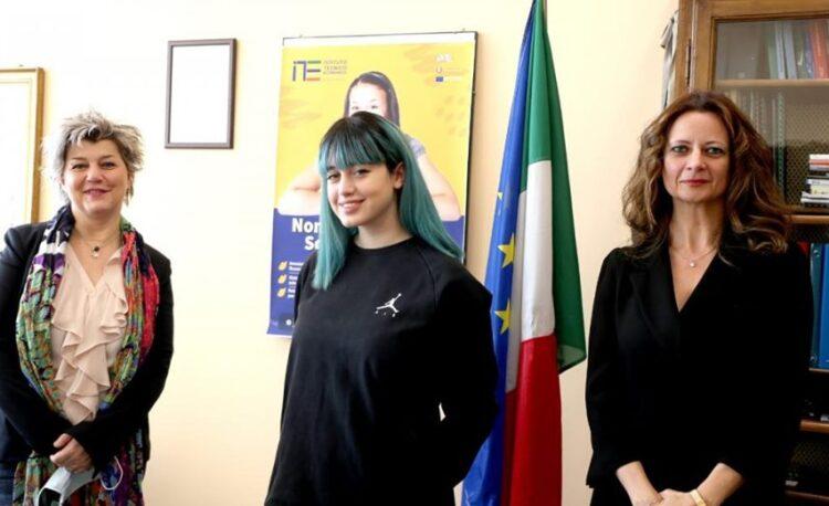 L'intervista della preside alla studentessa Giorgia Incicco